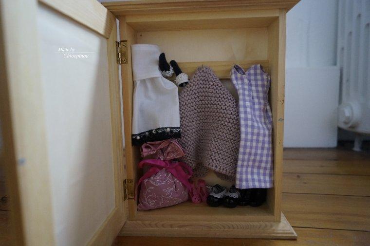 Création de mon armoire