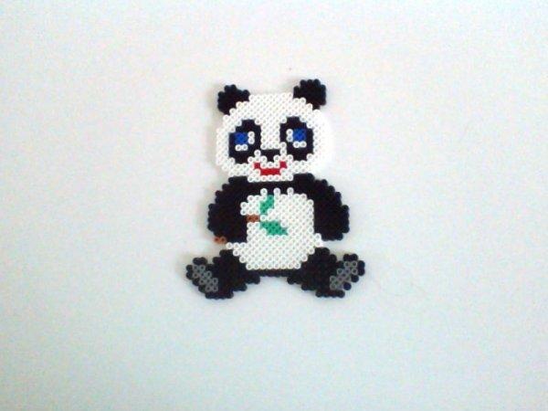 panda perle hama