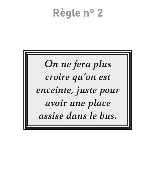 Règles N°2