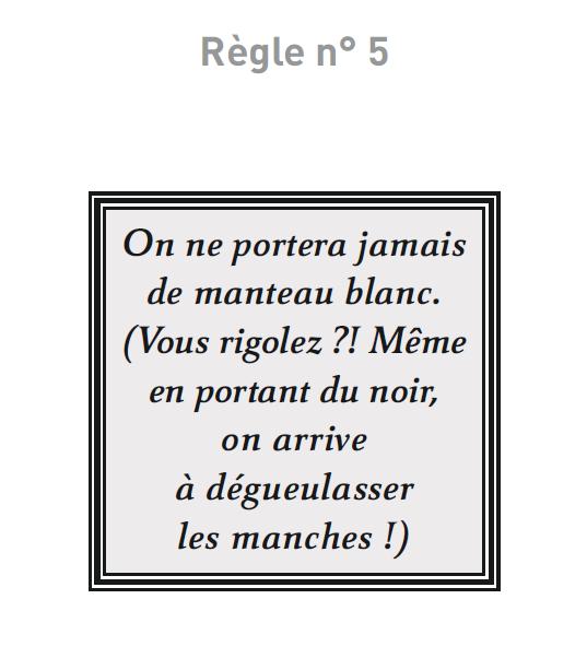 Règles N°5