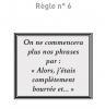 Règles N°6