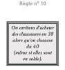 Règles N°10
