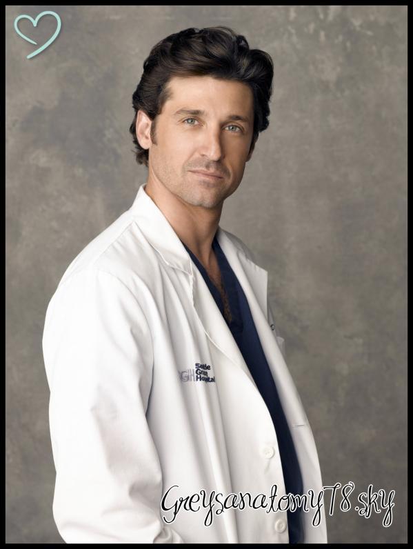 Patrick Dempsey Derek Shepherd Greys Anatomy