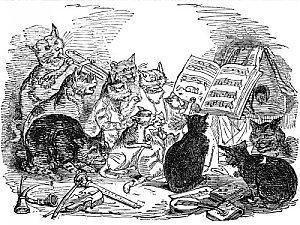 """Mon blog se devait de lui rendre un hommage à ce Grand """"Rossini's """"Cats Duet"""" (animation)"""