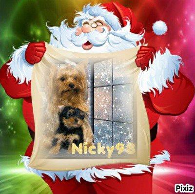 """Lundi 14 décembre 2015: l'heureuse élue est """"Nicky"""""""