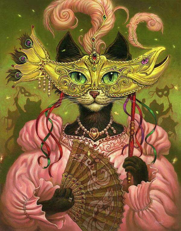 Voilà mes petits Chats de Carnaval, j'avoue j'adore les Chats-pitres!
