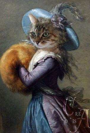 Quand les chats ont la classe, cela donne ça....