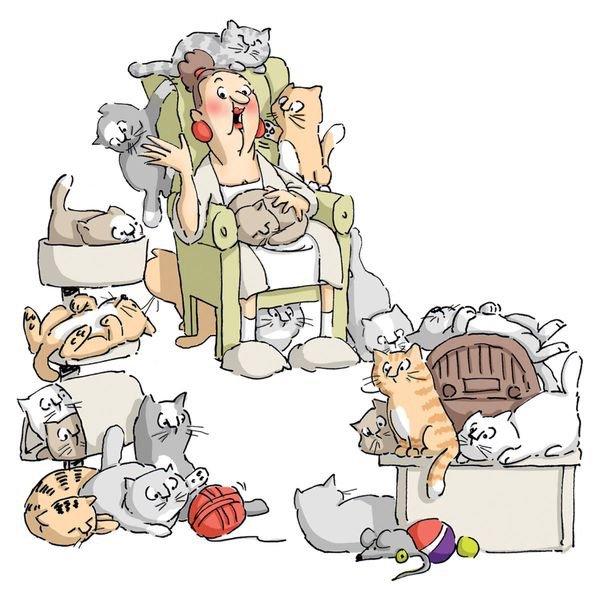 Rêves de vieillir près de mes chats......et, pourquoi pas?