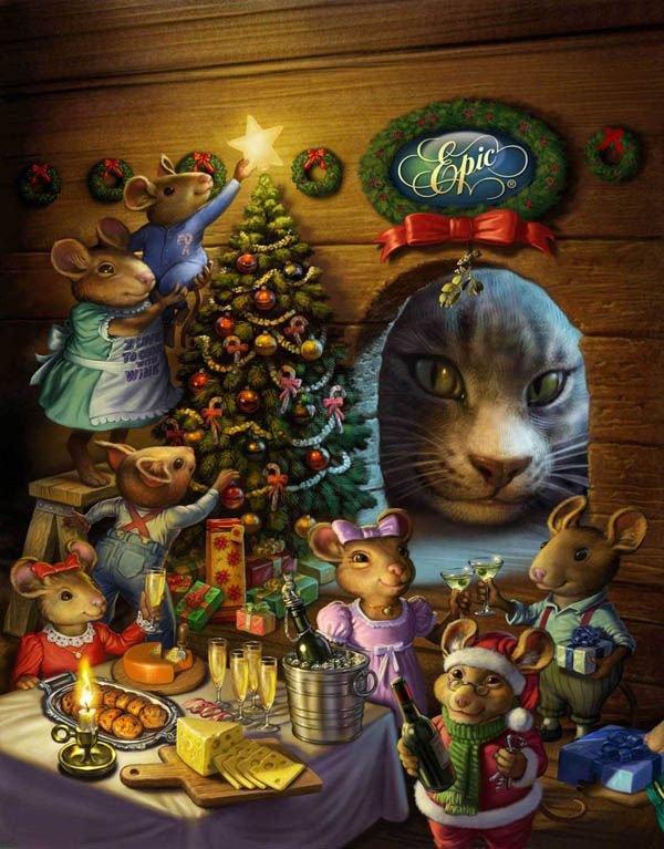 Nous voici arrivés à la féérie de Noël, alors j'ouvre le premier décembre avec quelques merveilleuses créations!