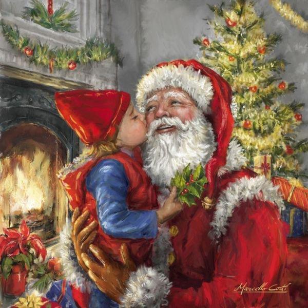 """Vingt quatre décembre """" Bon Réveillon """" à Tous"""