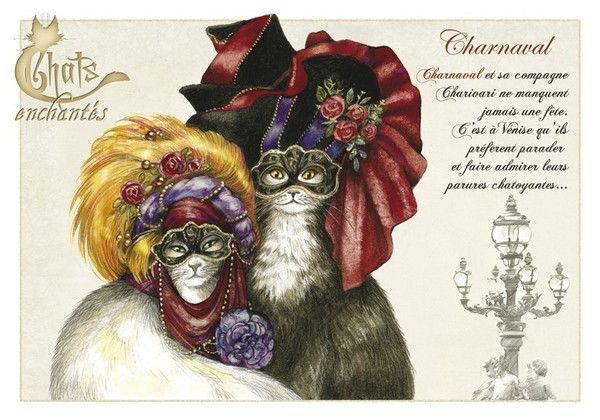 Février = Carnaval = Chats = Magnifiqe.....