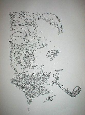 Calligraphie, j'adore...