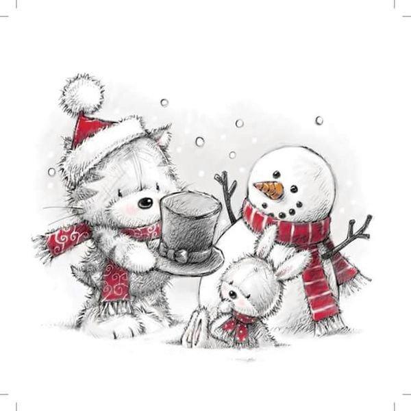 Cinq décembre 2017....calendrier de l'avent avec de jolis cadeaux pour tous .