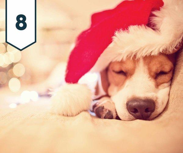 Huit décembre 2017... Calendrier de l'avent et cadeaux pour tous....