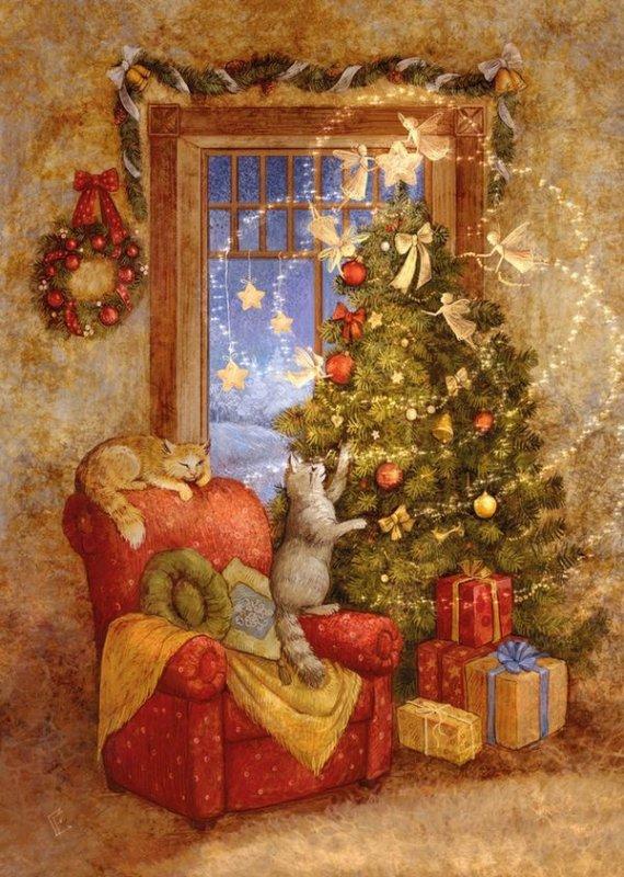 Dix décembre 2017.... Calendrier de l'avent et Cadeaux....