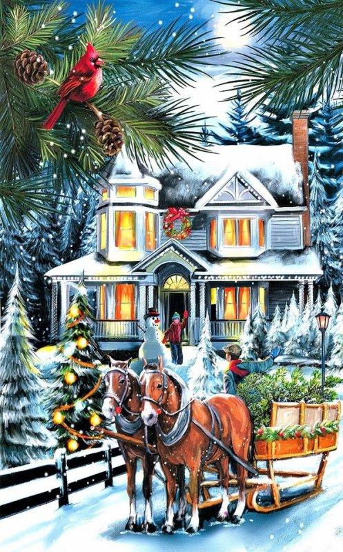 Douze décembre 2017... Suite calendrier de l'avent....cadeaux.