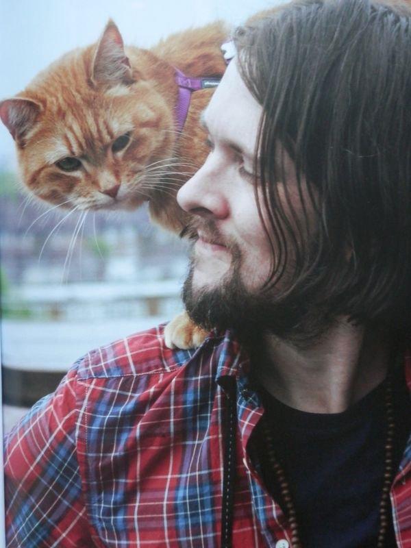 Bob le Chat et James Owen: duo complice et j'adore