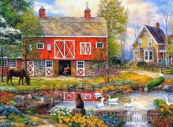 Maisons de mes rêves.....