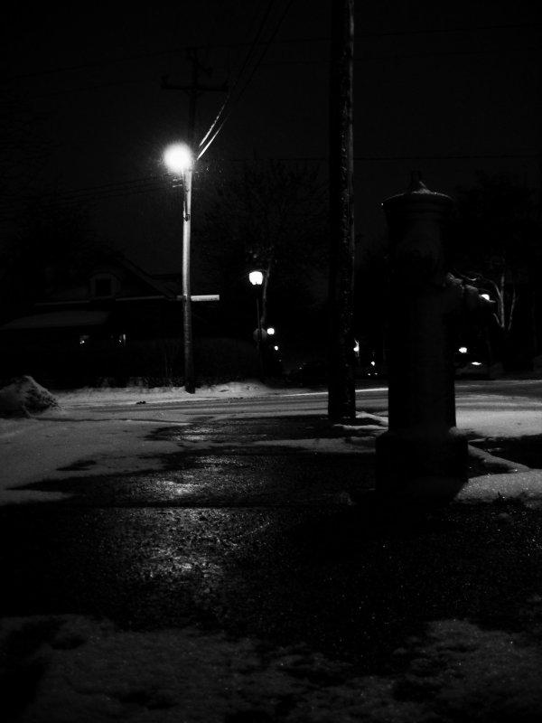 un endroit sombre