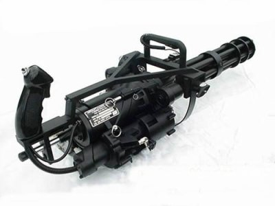 Gatling minigun