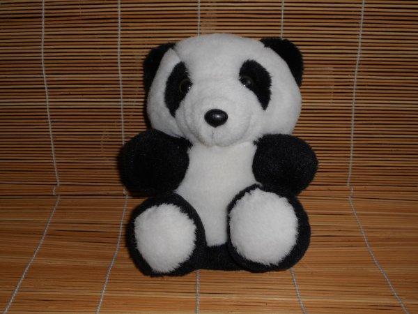 Panda peluche 1