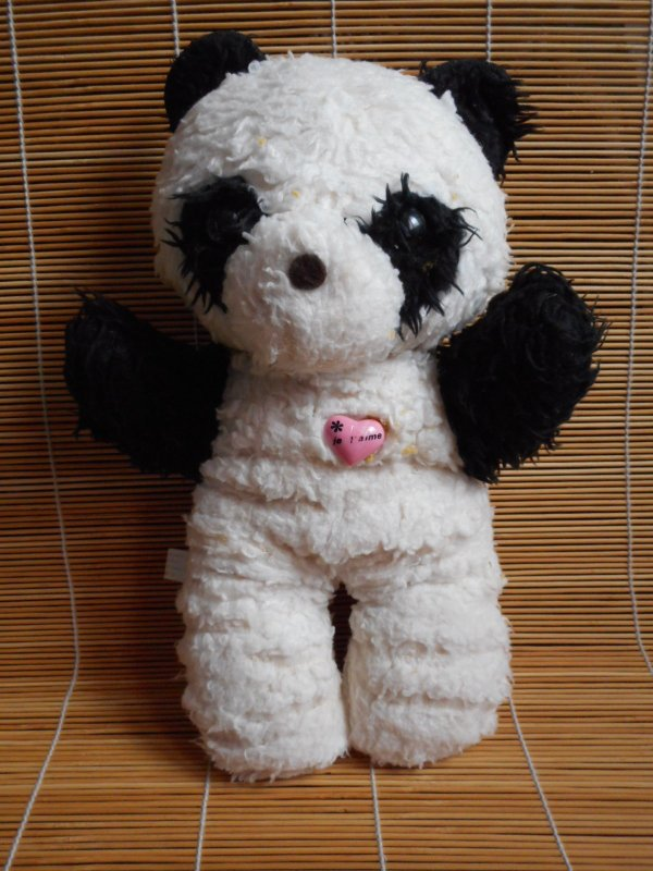 Panda peluche 7
