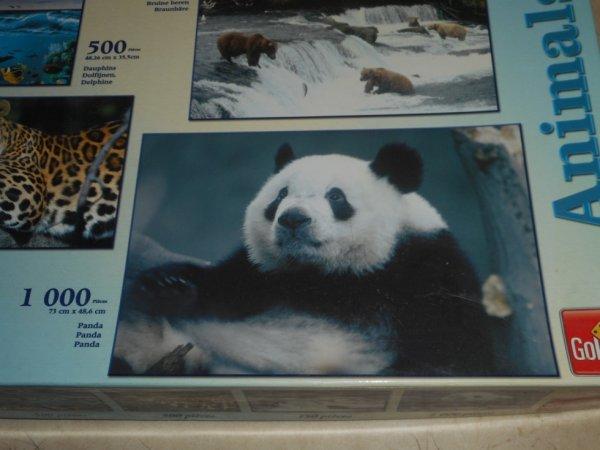 panda puzzle 1 000 pièces 1