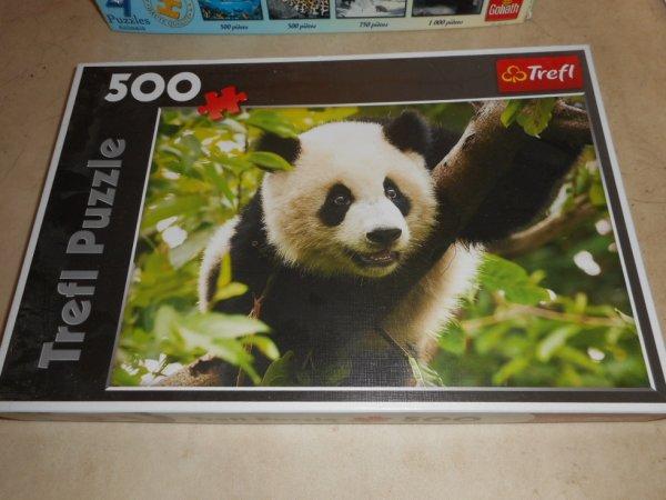 panda puzzle 500 pièces 3