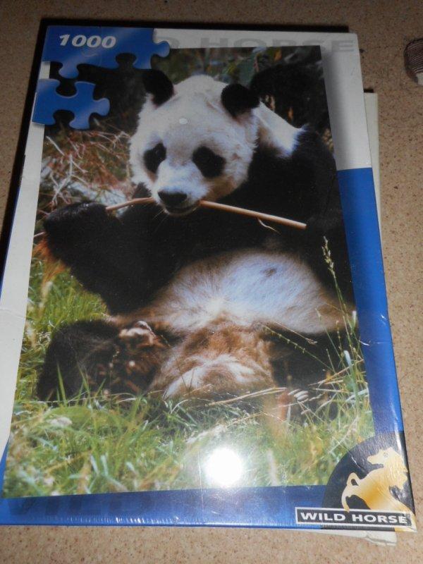 panda puzzle 1 000 pièces 5