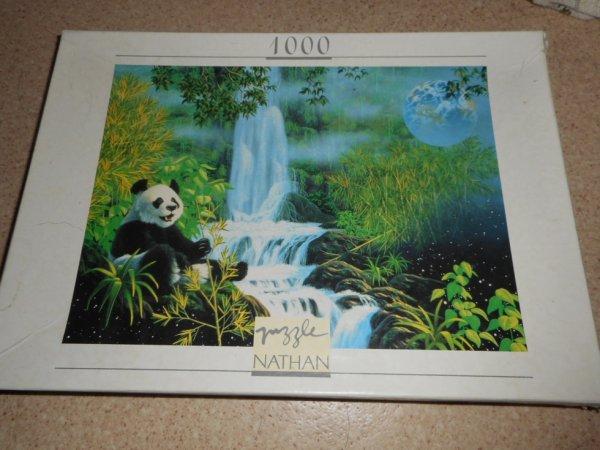 panda puzzle 1 000 pièces 6
