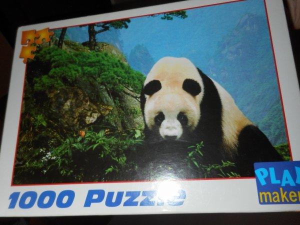 panda puzzle 1 000 pièces 7