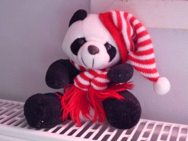 Panda peluche 17