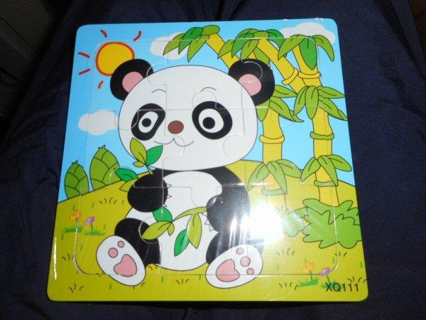 Panda Puzzle en bois 8