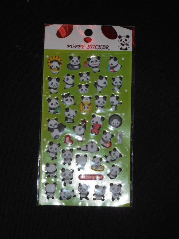 panda Planche Stickers 1