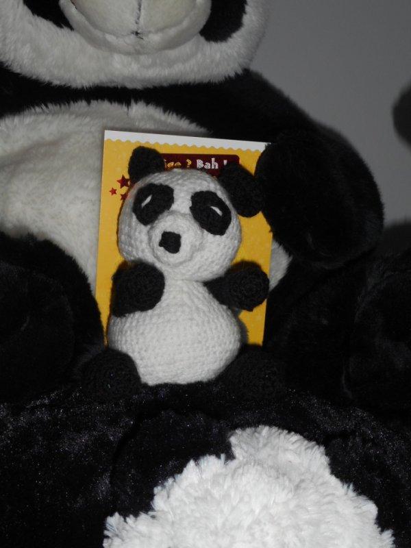 Panda en crochet 1