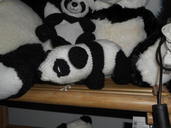 Panda en crochet 2