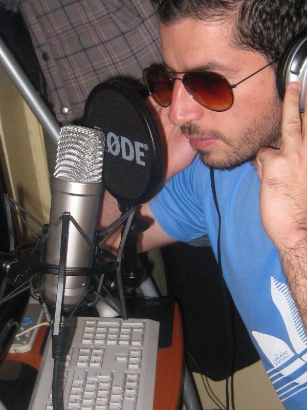 zaki  sur  le  studio homme
