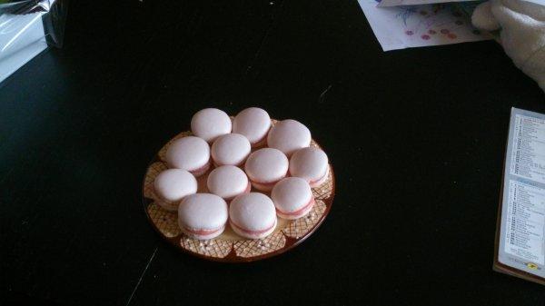 Macarons de la St Valentin