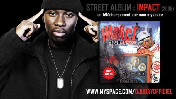DJUBAY - Street album IMPACT (2008)