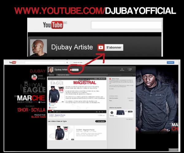 DJUBAY - Abonnement Youtube