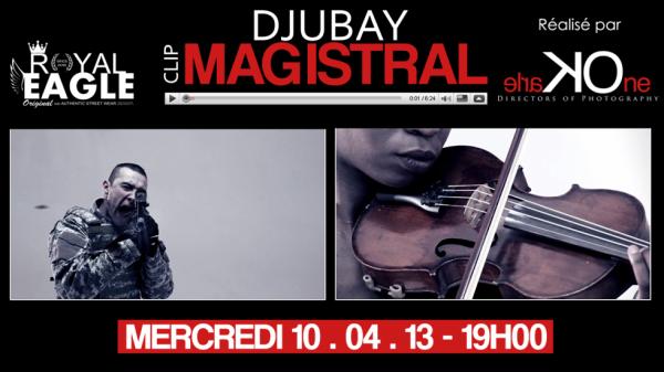 DJUBAY - Magistral Affiche