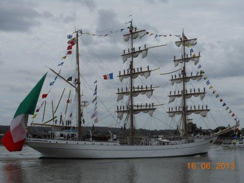 Depart Armada : Caudebec en caux Dimanche 16 Juin 2013