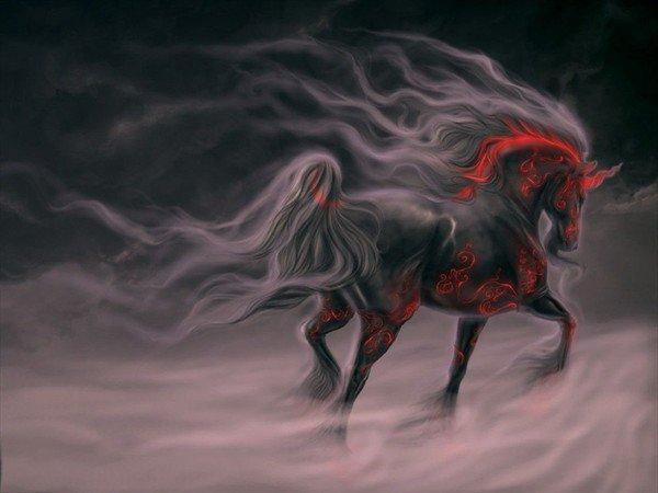 Je pars à l'aventure qui sait peut-être rencontrerai-je un cavalier qui veuille bien chevaucher avec moi à la découverte d'un monde meilleur
