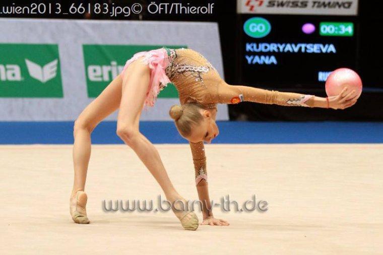 Championnat d'Europe 2013 à Viennes ! Yana Yudryavtseva ♥