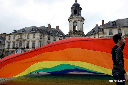La Gay Pride de 2012 à Rennes...