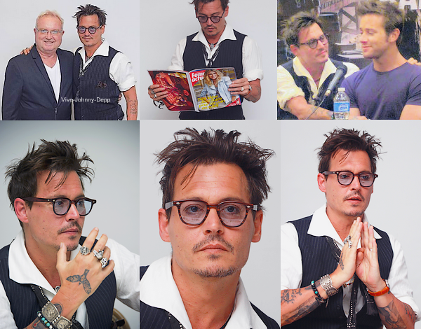 . 19 Juin 2013 : Johnny était à la Conférence de Presse suivit du Photocall avec l'équipe du film pour The Lone Ranger à Santa Fé.