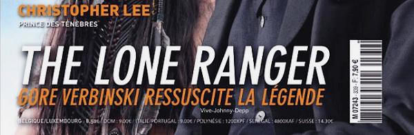 . Johnny est en couverture de L'Ecran Fantastique avec Armie Hammer, pour The Lone Ranger.