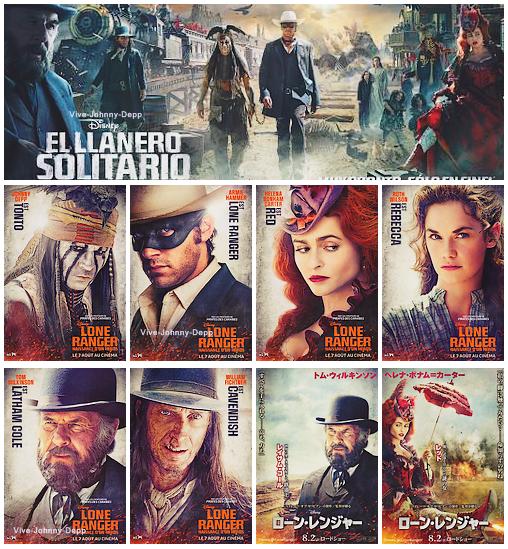. Lone Ranger : Les NouvellesJe vous présente l'intégralité des affiches et posters du film Lone Ranger ! .