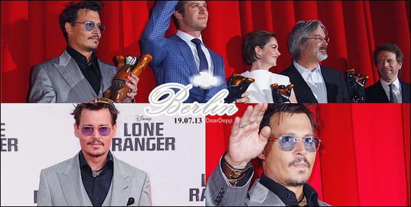 ". ""The Lone Ranger"" : Les Premières MondialesEn présence de Johnny Depp, Gore Verbinski, Jerry Bruckheimer , Armie Hammer et Ruth Wilson ."