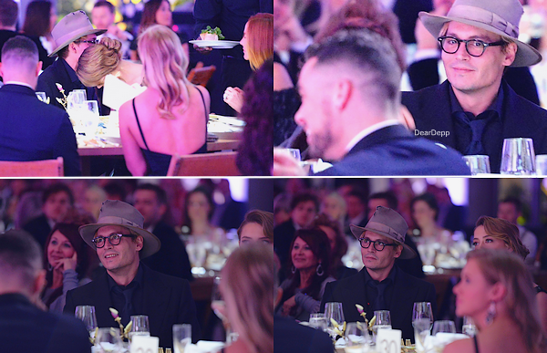 . 11.01.14 : Johnny et Amber étaient au The Art of Elysium's 7th Annual Heaven Gala.
